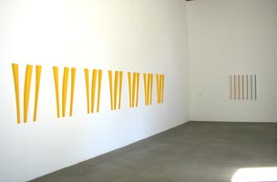 installation de 7 triptyques